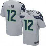 NFL 12th Fan Seattle Seahawks Elite Alternate Nike Jersey - Grey