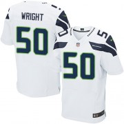 NFL K.J. Wright Seattle Seahawks Elite Road Nike Jersey - White