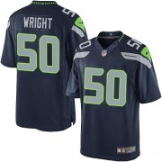 NFL K.J. Wright Seattle Seahawks Limited Team Color Home Nike Jersey - Navy Blue