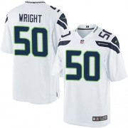NFL K.J. Wright Seattle Seahawks Limited Road Nike Jersey - White