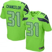 NFL Kam Chancellor Seattle Seahawks Elite Alternate Nike Jersey - Green