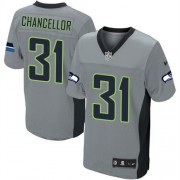 NFL Kam Chancellor Seattle Seahawks Elite Nike Jersey - Grey Shadow