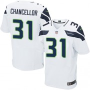 NFL Kam Chancellor Seattle Seahawks Elite Road Nike Jersey - White