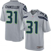 NFL Kam Chancellor Seattle Seahawks Limited Alternate Nike Jersey - Grey
