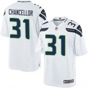 NFL Kam Chancellor Seattle Seahawks Limited Road Nike Jersey - White