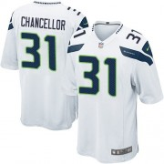 NFL Kam Chancellor Seattle Seahawks Youth Elite Road Nike Jersey - White