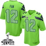 NFL 12th Fan Seattle Seahawks Youth Elite Alternate Super Bowl XLVIII Nike Jersey - Green