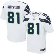NFL Kevin Norwood Seattle Seahawks Elite Road Nike Jersey - White