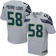 NFL Kevin Pierre-Louis Seattle Seahawks Elite Alternate Nike Jersey - Grey