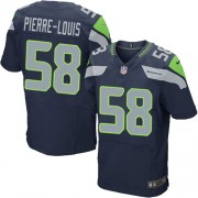 NFL Kevin Pierre-Louis Seattle Seahawks Elite Team Color Home Nike Jersey - Navy Blue