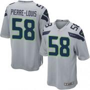 NFL Kevin Pierre-Louis Seattle Seahawks Game Alternate Nike Jersey - Grey