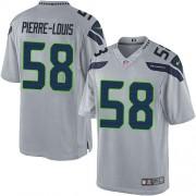 NFL Kevin Pierre-Louis Seattle Seahawks Limited Alternate Nike Jersey - Grey