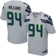 NFL Kevin Williams Seattle Seahawks Elite Alternate Nike Jersey - Grey