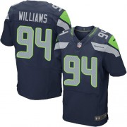 NFL Kevin Williams Seattle Seahawks Elite Team Color Home Nike Jersey - Navy Blue