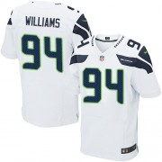 NFL Kevin Williams Seattle Seahawks Elite Road Nike Jersey - White