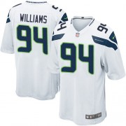 NFL Kevin Williams Seattle Seahawks Game Road Nike Jersey - White