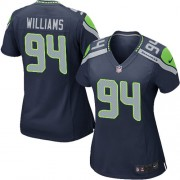 NFL Kevin Williams Seattle Seahawks Women's Game Team Color Home Nike Jersey - Navy Blue