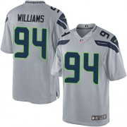 NFL Kevin Williams Seattle Seahawks Youth Elite Alternate Nike Jersey - Grey