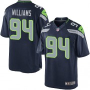 NFL Kevin Williams Seattle Seahawks Youth Limited Team Color Home Nike Jersey - Navy Blue