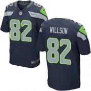 NFL Luke Willson Seattle Seahawks Elite Team Color Home Nike Jersey - Navy Blue