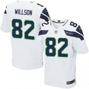 NFL Luke Willson Seattle Seahawks Elite Road Nike Jersey - White