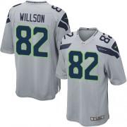 NFL Luke Willson Seattle Seahawks Game Alternate Nike Jersey - Grey