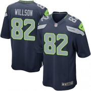 NFL Luke Willson Seattle Seahawks Game Team Color Home Nike Jersey - Navy Blue
