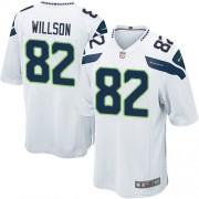 NFL Luke Willson Seattle Seahawks Game Road Nike Jersey - White
