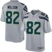 NFL Luke Willson Seattle Seahawks Limited Alternate Nike Jersey - Grey