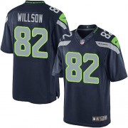 NFL Luke Willson Seattle Seahawks Limited Team Color Home Nike Jersey - Navy Blue