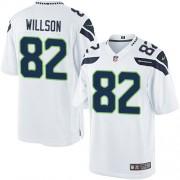 NFL Luke Willson Seattle Seahawks Limited Road Nike Jersey - White