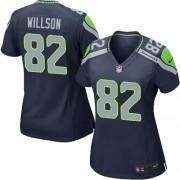 NFL Luke Willson Seattle Seahawks Women's Game Team Color Home Nike Jersey - Navy Blue