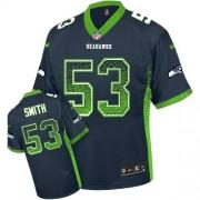 NFL Malcolm Smith Seattle Seahawks Elite Drift Fashion Nike Jersey - Navy Blue