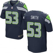 NFL Malcolm Smith Seattle Seahawks Elite Team Color Home Nike Jersey - Navy Blue