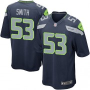 NFL Malcolm Smith Seattle Seahawks Game Team Color Home Nike Jersey - Navy Blue