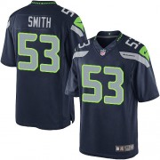 NFL Malcolm Smith Seattle Seahawks Limited Team Color Home Nike Jersey - Navy Blue