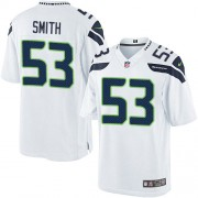 NFL Malcolm Smith Seattle Seahawks Limited Road Nike Jersey - White