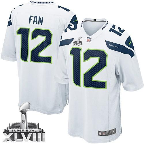 NFL 12th Fan Seattle Seahawks Youth Limited Road Super Bowl XLVIII  hot sale