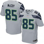 NFL Anthony McCoy Seattle Seahawks Elite Alternate Nike Jersey - Grey