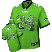 NFL Marshawn Lynch Seattle Seahawks Elite Drift Fashion Nike Jersey - Green