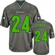 NFL Marshawn Lynch Seattle Seahawks Elite Vapor Nike Jersey - Grey