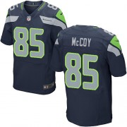 NFL Anthony McCoy Seattle Seahawks Elite Team Color Home Nike Jersey - Navy Blue