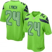NFL Marshawn Lynch Seattle Seahawks Game Alternate Nike Jersey - Green