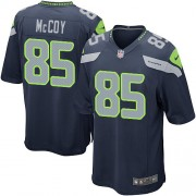 NFL Anthony McCoy Seattle Seahawks Game Team Color Home Nike Jersey - Navy Blue