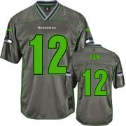 NFL 12th Fan Seattle Seahawks Elite Vapor Nike Jersey - Grey