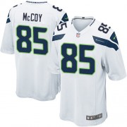 NFL Anthony McCoy Seattle Seahawks Game Road Nike Jersey - White