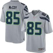 NFL Anthony McCoy Seattle Seahawks Limited Alternate Nike Jersey - Grey