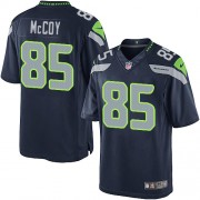 NFL Anthony McCoy Seattle Seahawks Limited Team Color Home Nike Jersey - Navy Blue