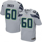 NFL Max Unger Seattle Seahawks Elite Alternate Nike Jersey - Grey