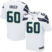 NFL Max Unger Seattle Seahawks Elite Road Nike Jersey - White